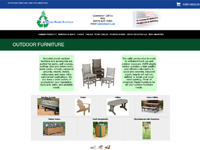 American Plastic Furniture