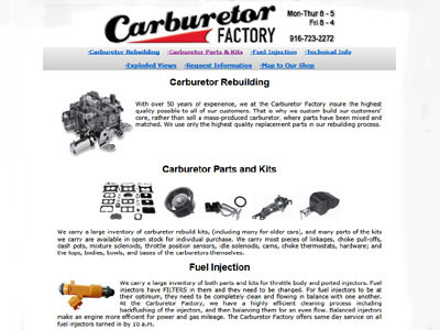 Carburetor Factory